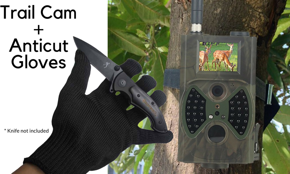 Trail Camera Anticut Gloves For Hunting Amp Property